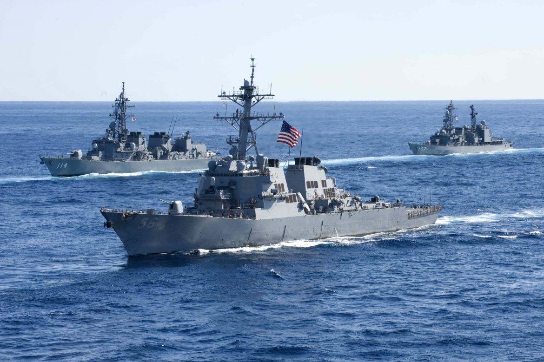 Geliat AS di Laut China Selatan Dituding China sebagai Provokasi Militer